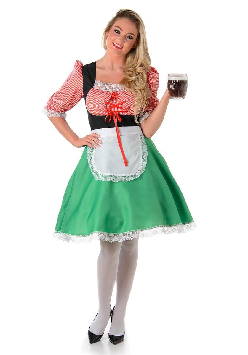 Bavarian Hostess Costume | Eve costume ideas, Eve costume ...