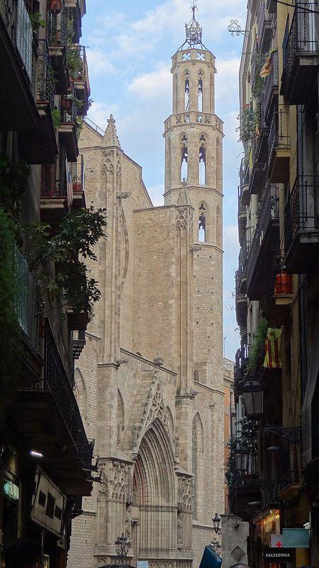 Santa Maria del Mar, Barcelona | por Nuria Pifarré