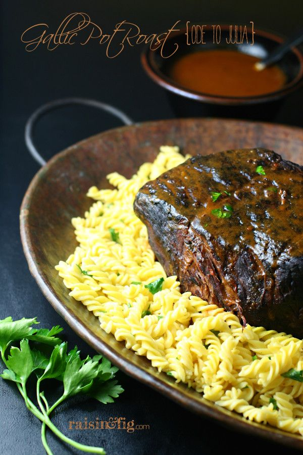 child s gallic pot roast makes a cozy meal you ll enjoy it even more if you ve