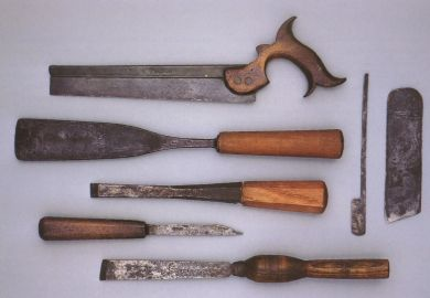 18th Century Back Saw Chisels And Other Edge Tools Made In
