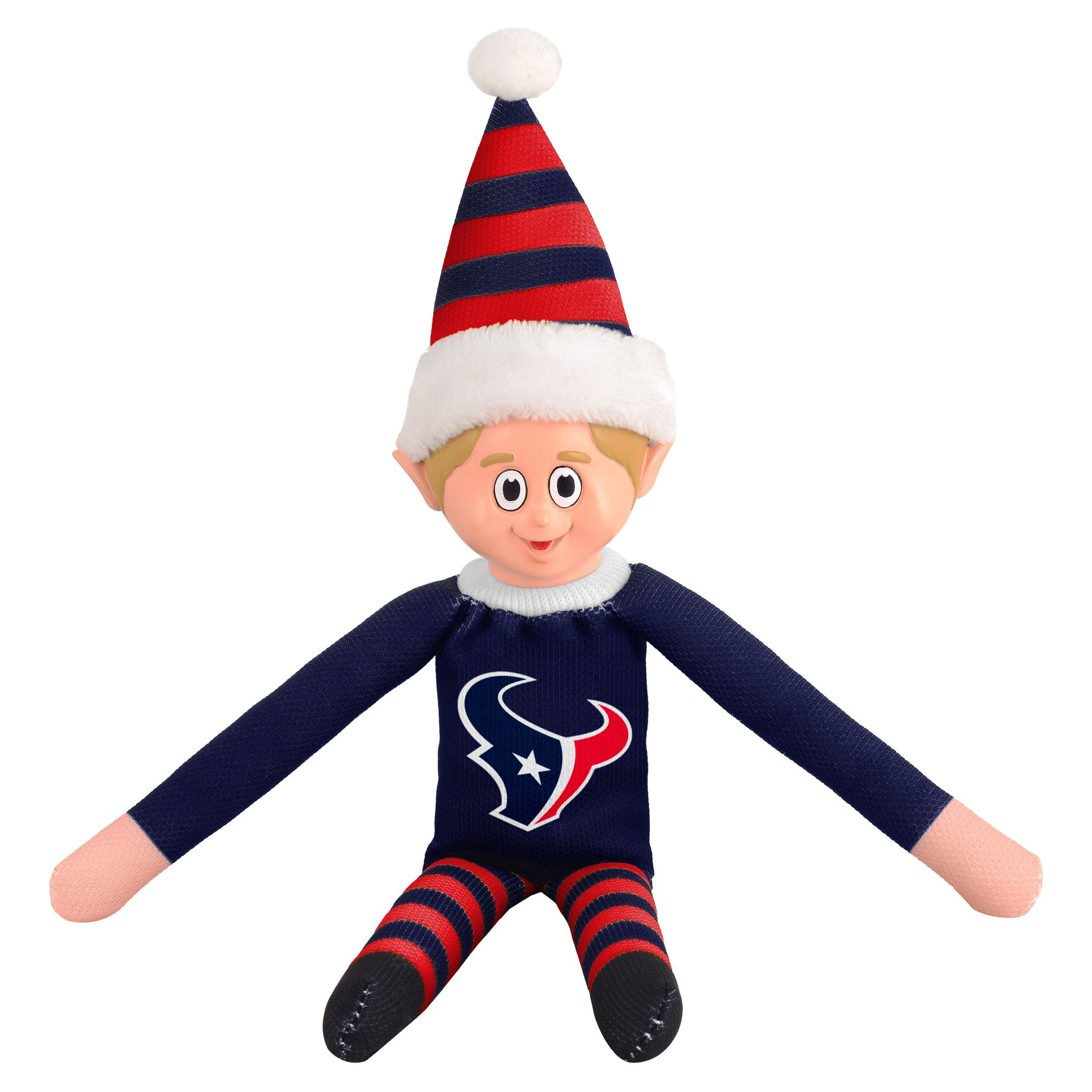 Forever Collectibles Houston Texans NFL Team Elf