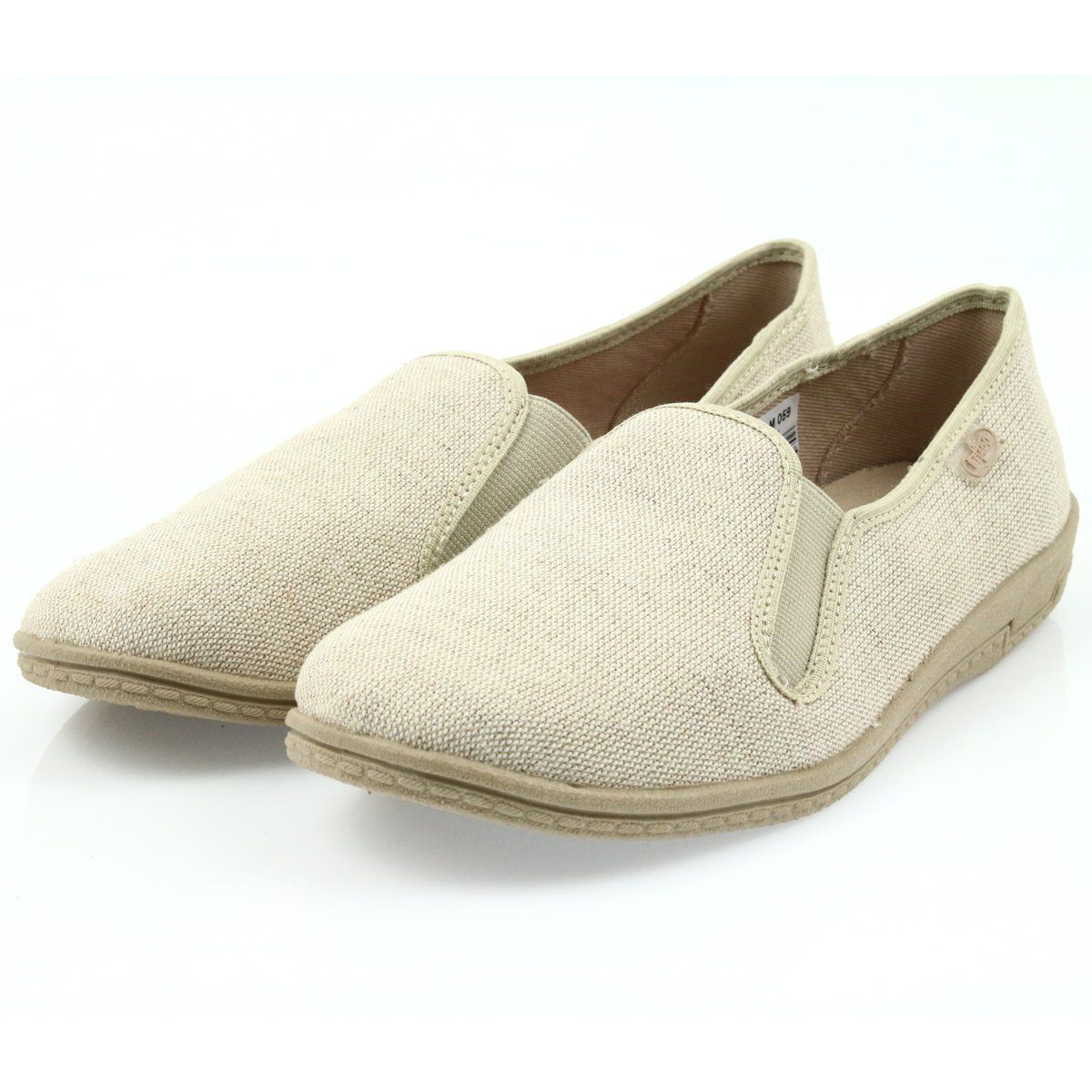 Befado Buty Meskie Tenisowki Kapcie 001m059 Brazowe Sneakers Men Sneaker Slippers Sneakers