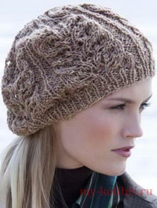 Вяжем модные шапки, береты, и др. головные уборы для ...