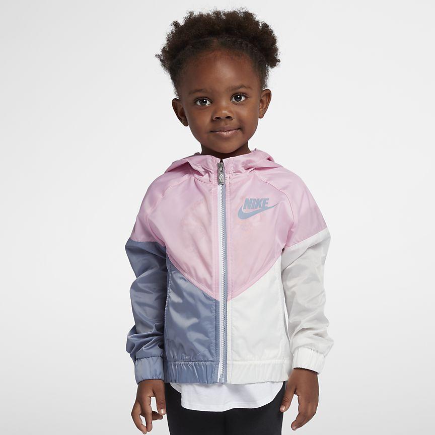 best sneakers b35fb 4536d Nike Sportswear Windrunner Little Kids  Jacket