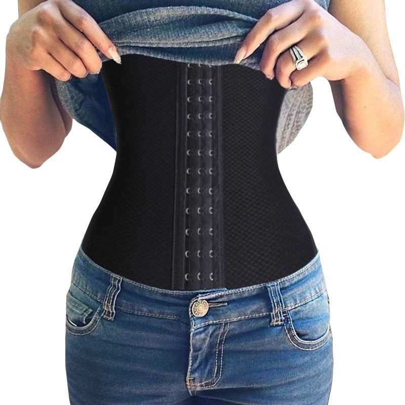 Hot Shaper Tummy Trimmer Slimming Belt Waist Training Corsets Wasit