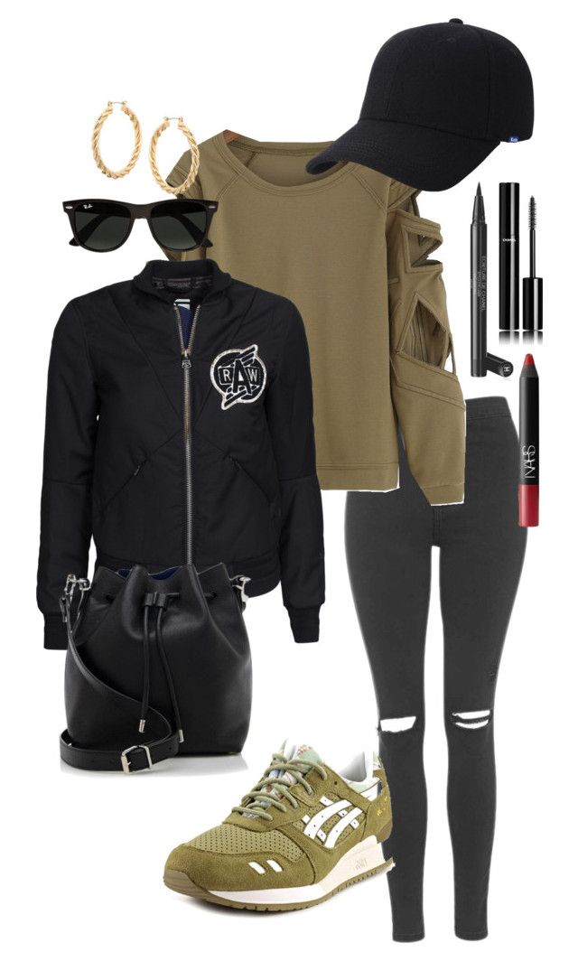 """#52"" by laurine-darcy on Polyvore featuring mode, Topshop, Asics, Keds, ASOS, G-Star, Ray-Ban, Chanel, NARS Cosmetics et Proenza Schouler"
