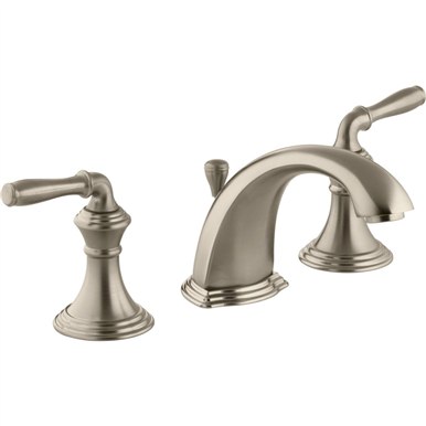 Photo of Kohler Devonshire Devonshire Vibrant Brushed Bronze 2-Handle Widespread WaterSense Bathroom F…