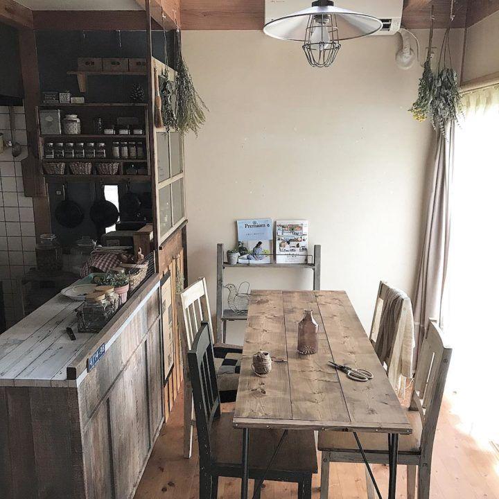 古民家風キッチンインテリア