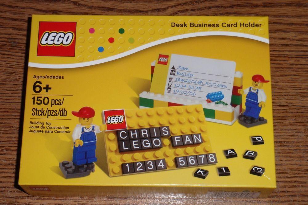 Lego Desk Business Card Holder Set 850425 Great Gift New Lego Desk Business Card Holders Business Cards