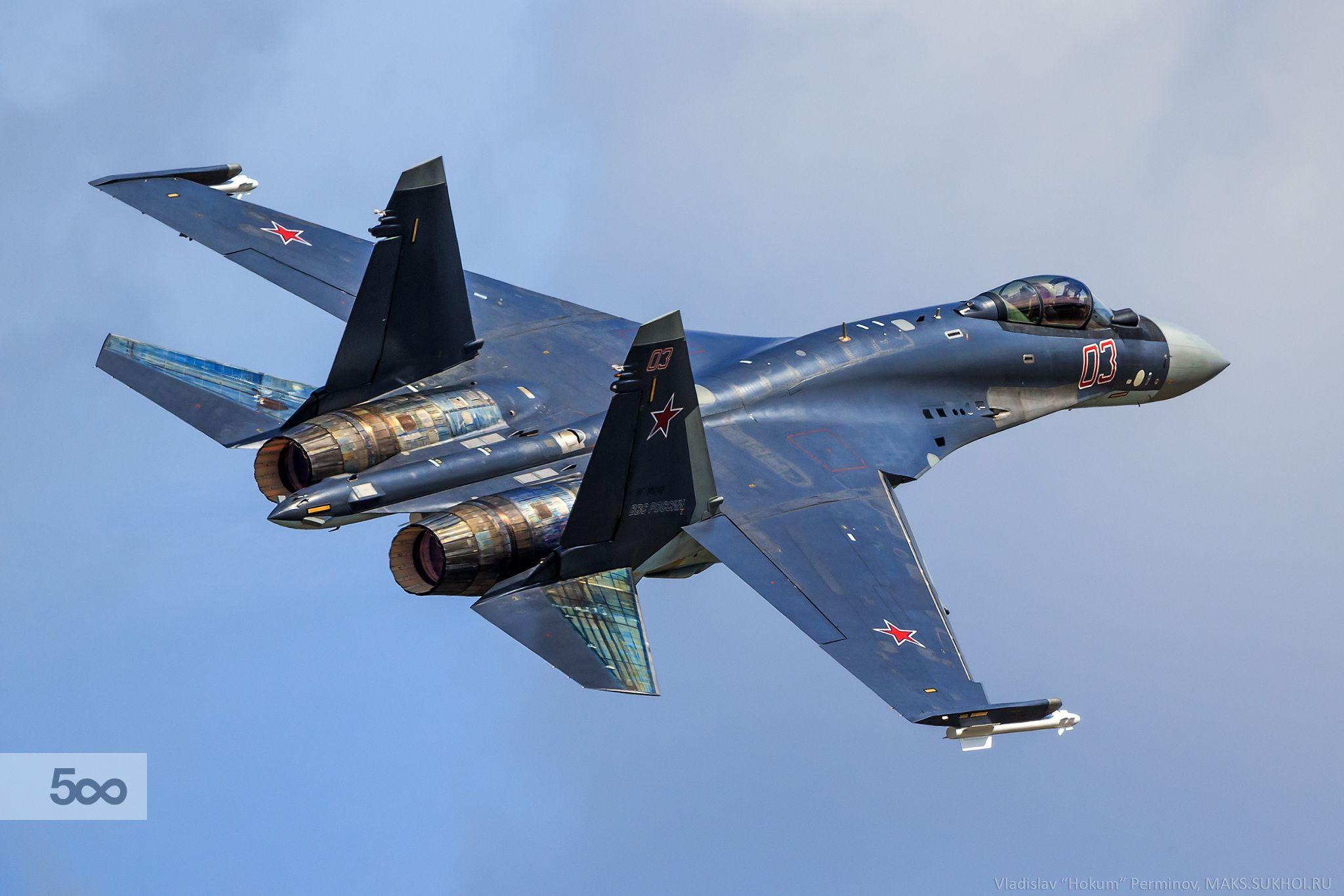 Sukhoi Su-35 by Владислав Перминов on 500px