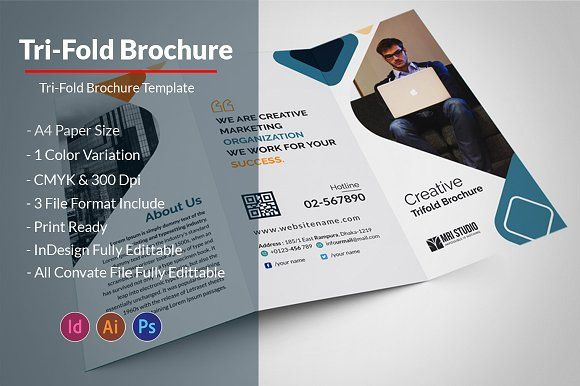 Business Tri Fold Brochure Tri Fold Brochure Tri Fold And Brochures