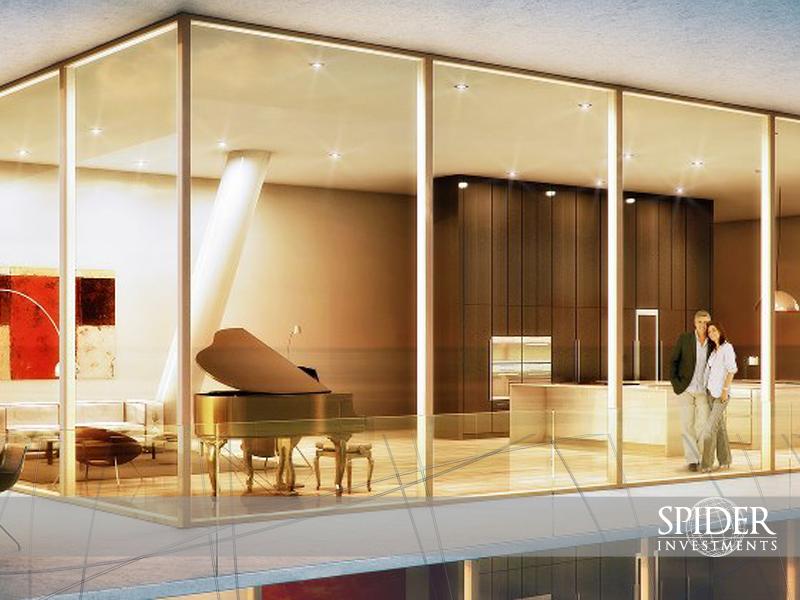 12 altas puertas corredizas de vidrio ofrecen f cil acceso - Puertas para terrazas ...