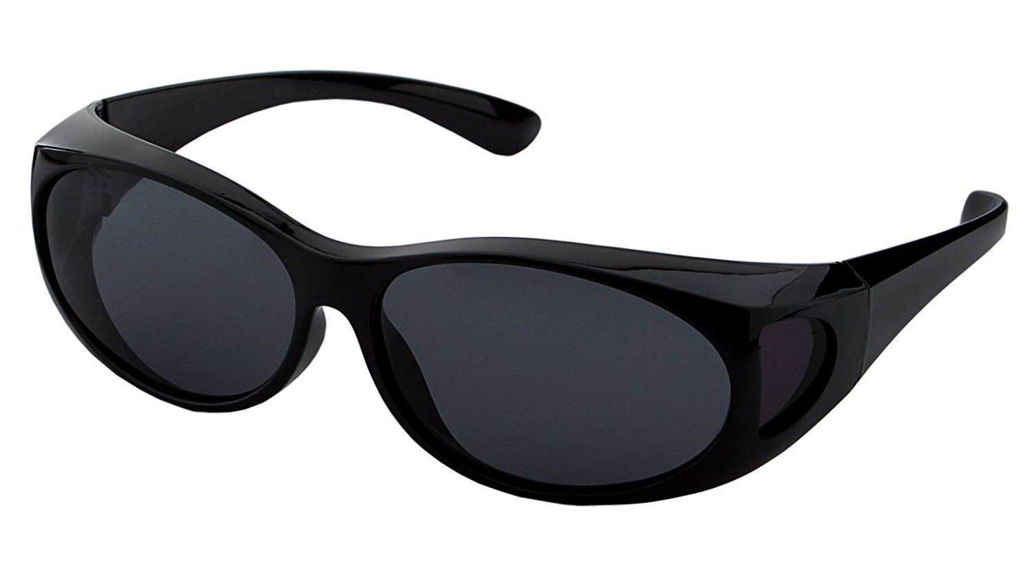 796752daf7 LensCovers Sunglasses Wear Over Prescription Glasses. Size Small with  Polarization.