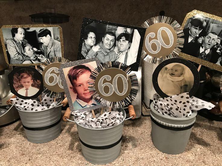 Machte diese super süßen und preiswerten Mittelstücke ... - #Centerpieces #Cute #dol ... #moms50thbirthday