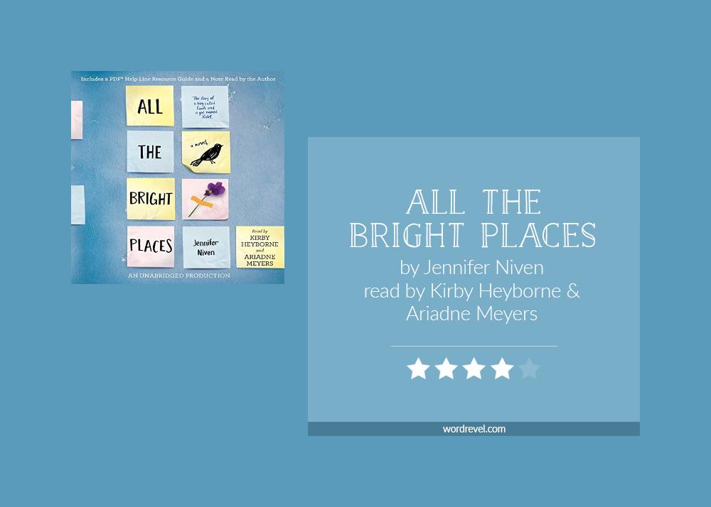 Jennifer Niven All The Bright Places Pdf