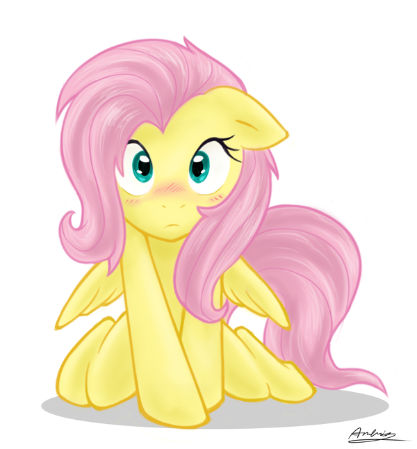 Fluttershy Cute Color by *Ambris on deviantART My