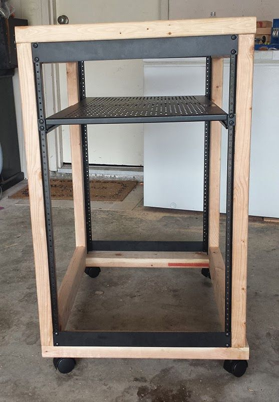 DIY Server Rack Plans locksmithing in 2019 Computer rack, Server