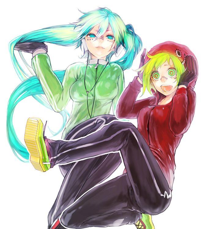 Hatsune Miku & Gumi-Matrioshka
