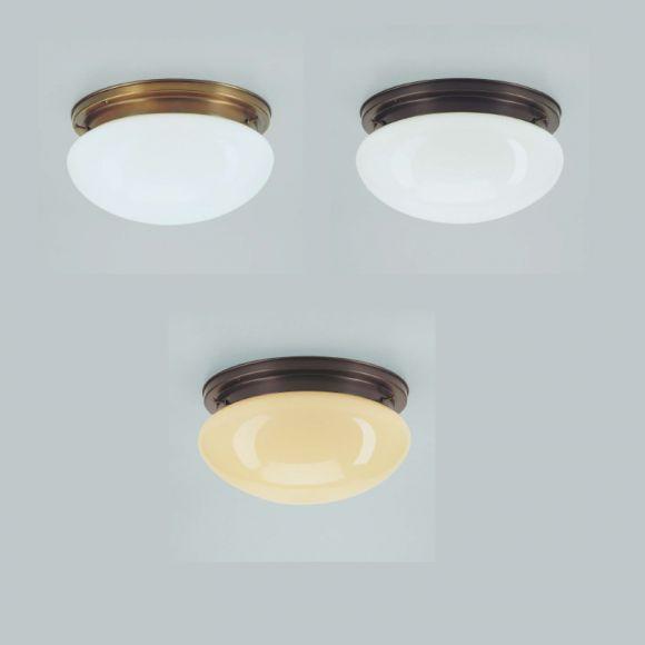Deckenleuchte mit Glasschirm 30 cm in 3 Versionen lampe küche - deckenleuchten für die küche