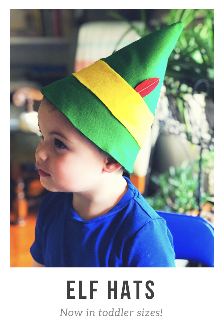 Buddy The Elf Hats For Toddlers And Babies Made By Hand These Are So Perfect For Christmas Photos Or An Buddy The Elf Buddy The Elf Costume Baby Elf Costume