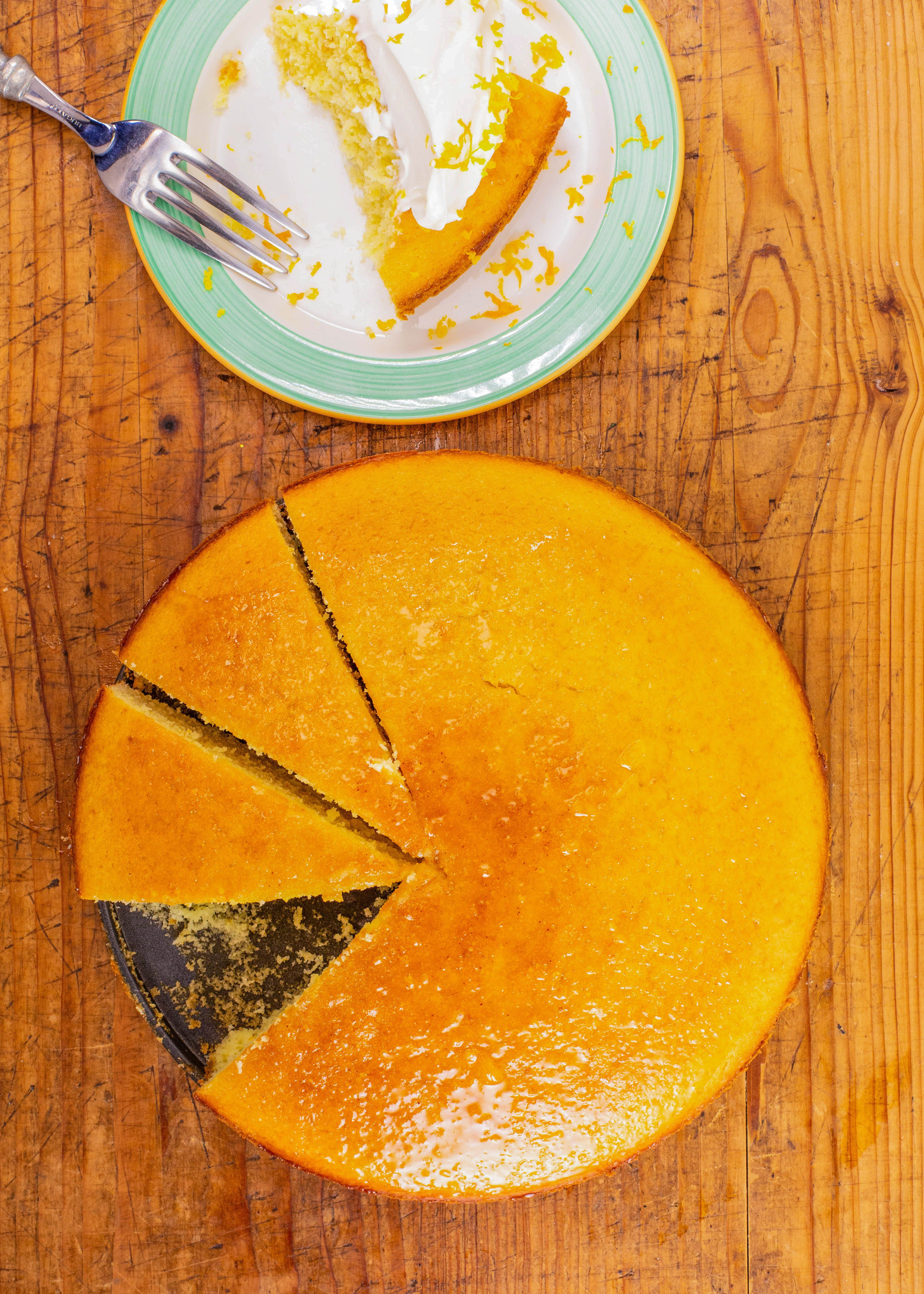 Clinton Kelly's Orange Olive Oil Cake #oliveoils