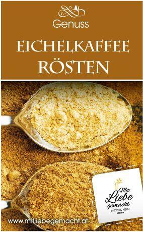 Eichelkaffee mal anders - herbstlicher spicy Café Latte ...