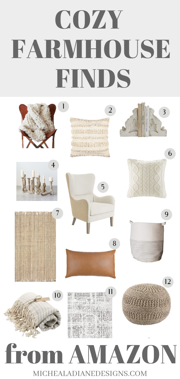Cozy Farmhouse Finds From Amazon -   21 neutral winter decor