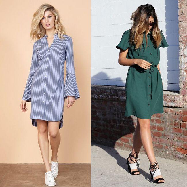 d4e934d7e102 Looks com vestido chemise: veja como usar e confira 10 fotos incríveis!