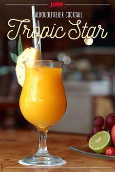 alkoholfreier Cocktail Tropic Star