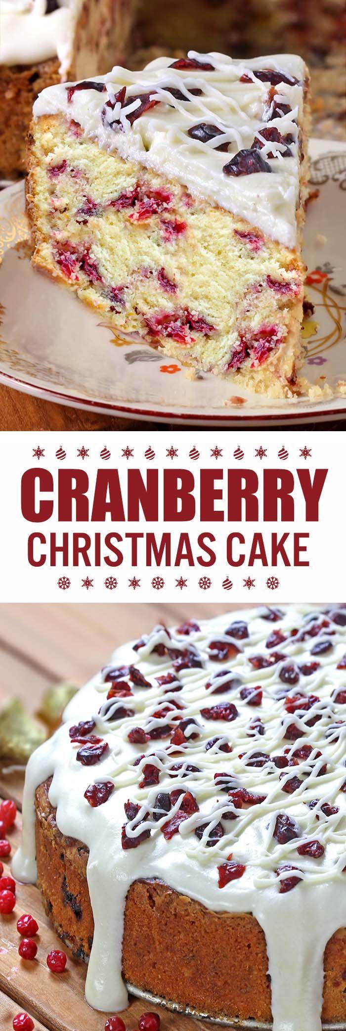 Christmas Cranberry Cake Recipe Cranberry Cake Cranberry Christmas Cake Coffee Cake Recipes