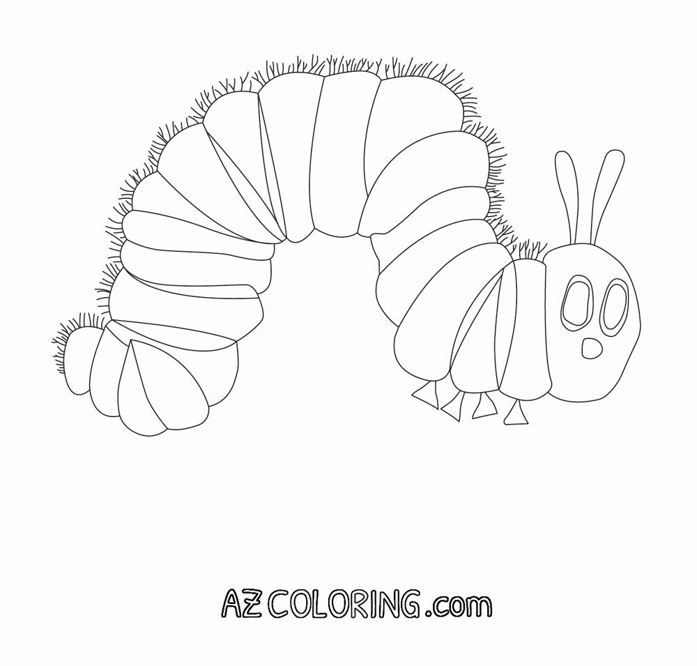 28 Hungry Caterpillar Coloring Page Wickedbabesblog Com In 2020