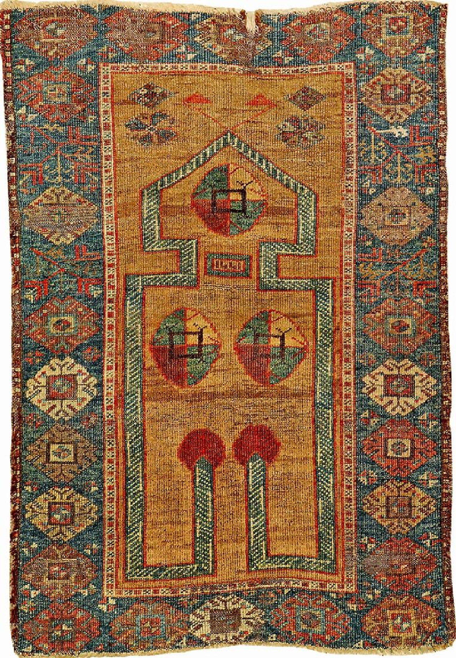 Unusual Camel Wool Konya Prayer