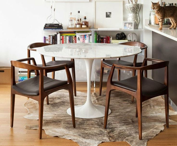 Lovely The Tulip Table From Rove Concepts, Made Of Natural Italian Carrara Marble,  Is Simply