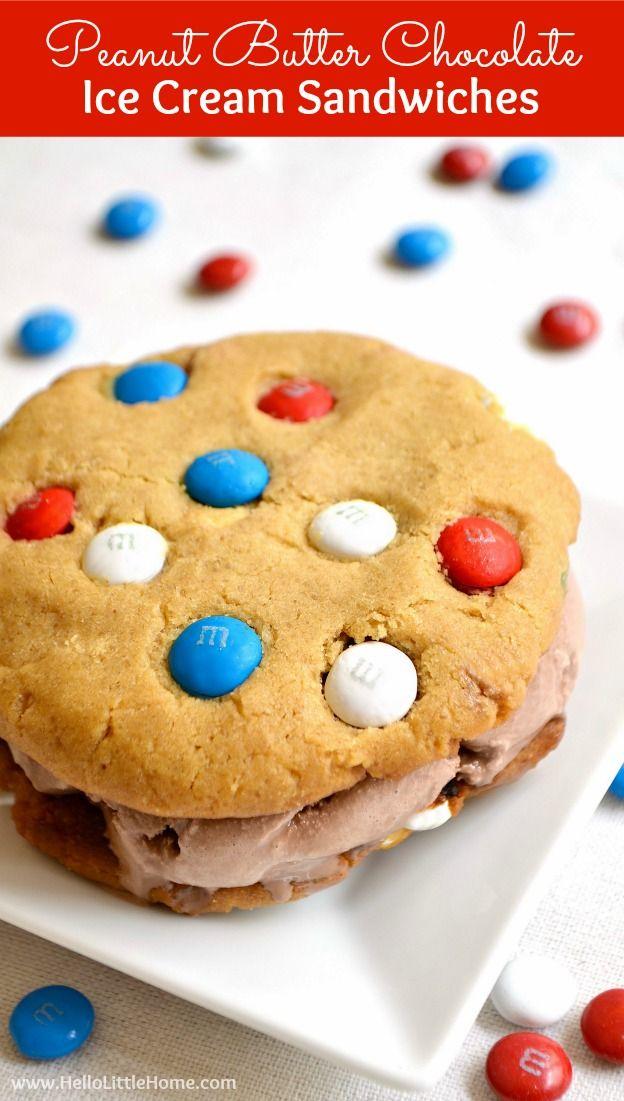 Peanut Butter Chocolate Ice Cream Sandwiches Recipe Ice Cream Sandwich Homemade Ice Cream Sandwiches Easy Ice Cream Sandwich Recipe