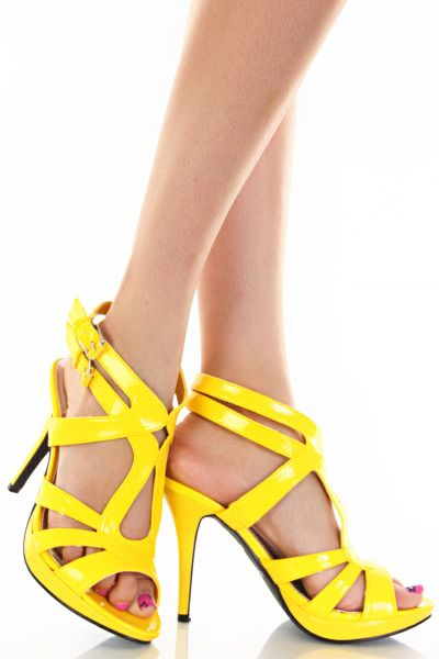 1000  images about Yellow & Mustard Shoes on Pinterest | Shoes ...