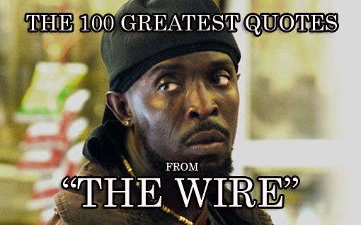 Omar Michael K Williams The Wire