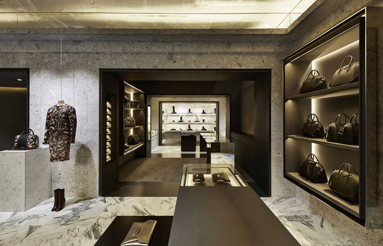 Souvent Givenchy Store in Paris by Joseph Dirand | Joseph dirand, Retail  CF38