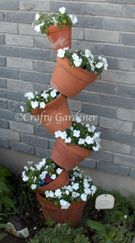 How Do You Do That Flower Pots Outdoor Terracotta Pots Stacked Flower Pots
