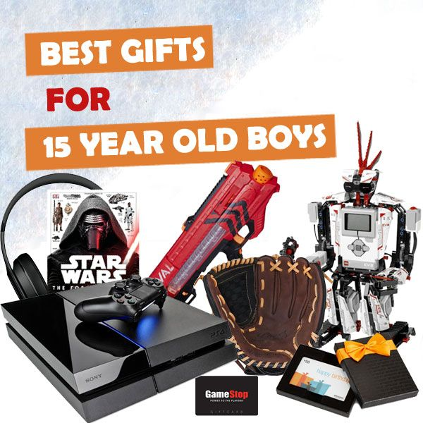 Gifts for 15 year old boys for christmas
