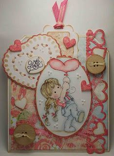 Up, Up, and Away Tilda, With Love Collection, Magnolia stamps