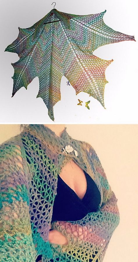 30 Great Crochet Shawl Patterns | Chal, Ganchillo y Bolsos de ganchillo