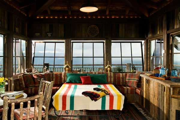Fire Lookout Tower-interior | Tiny Spaces | Pinterest | Tower ...