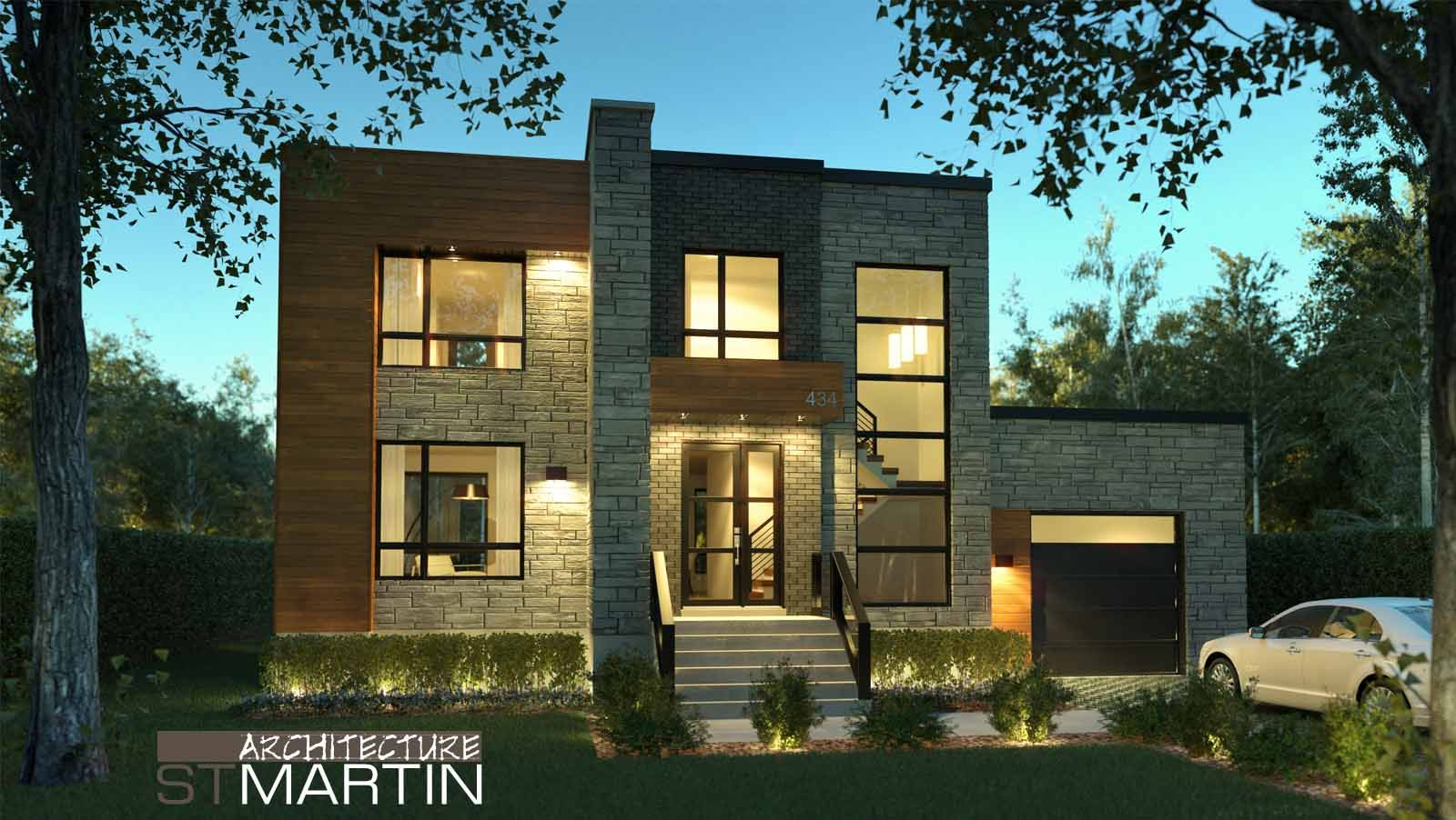 Architecture st martin maisons neuves