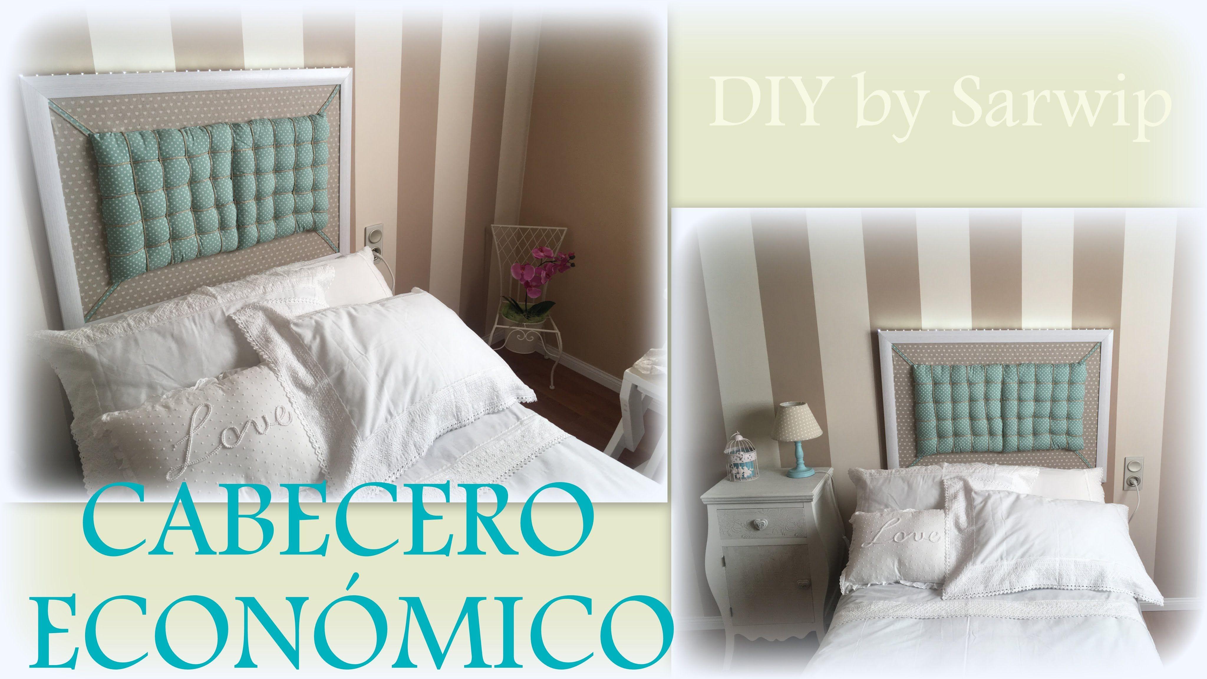 ✫ DIY ✫ Cómo hacer cabecero barato    Cabecero cama de 90 por ...