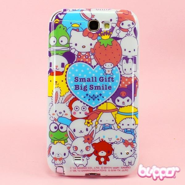 Sanrio Characters protective cover for Galaxy Note 2
