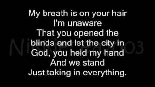 18th Floor Balcony Blue October Lyrics Via Youtube