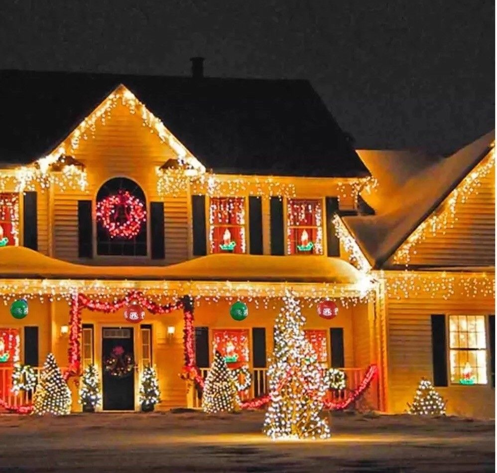 6 Big 14 Inflatable Christmas Holiday Hanging Ornaments Yard Home Decorations Ebay Best Christmas Lights Christmas Light Displays Holiday Lights