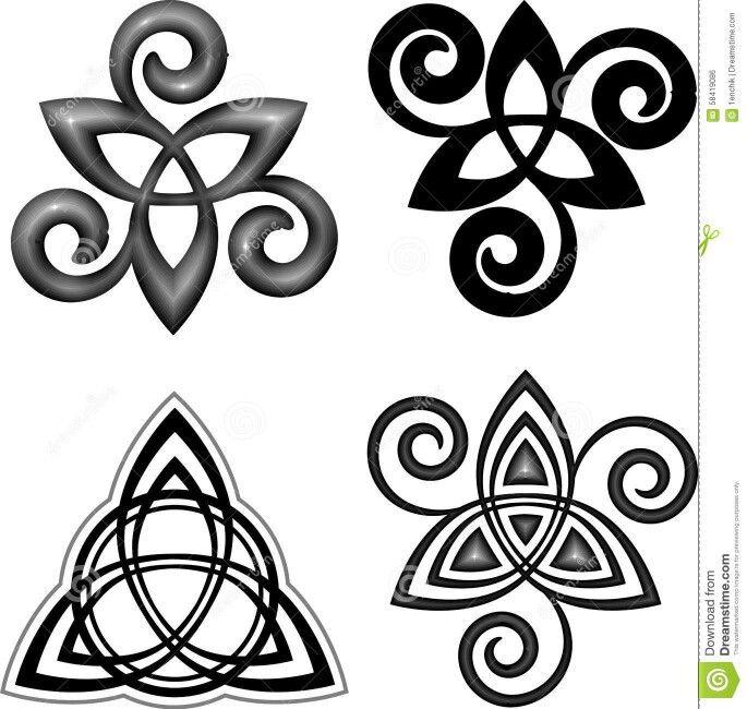 triquetra and triple spiral triskele tattoos pinterest ideias de tatuagens e tatuagens. Black Bedroom Furniture Sets. Home Design Ideas