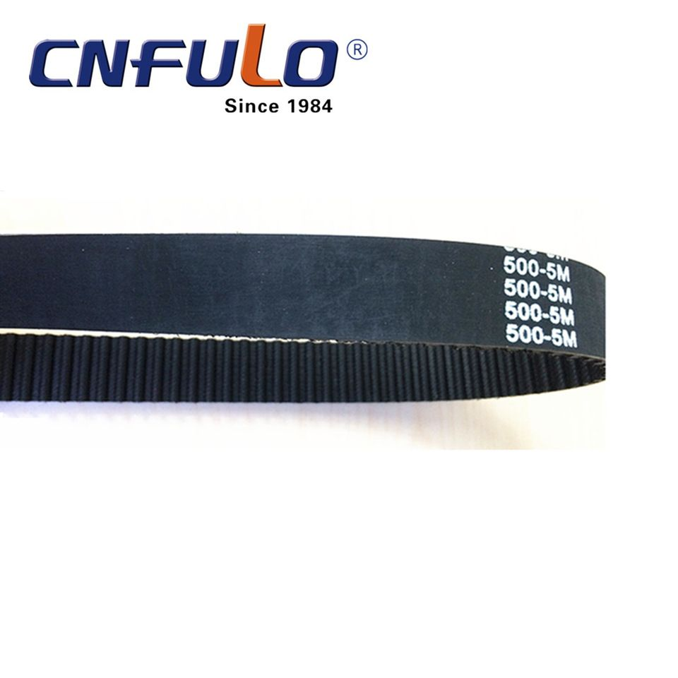 Motor Parts Rubber Timing Belt For High Torque Drive 500 5m
