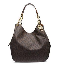 MICHAEL KORS Fulton Large Logo Shoulder Bag | Handbags michael ...